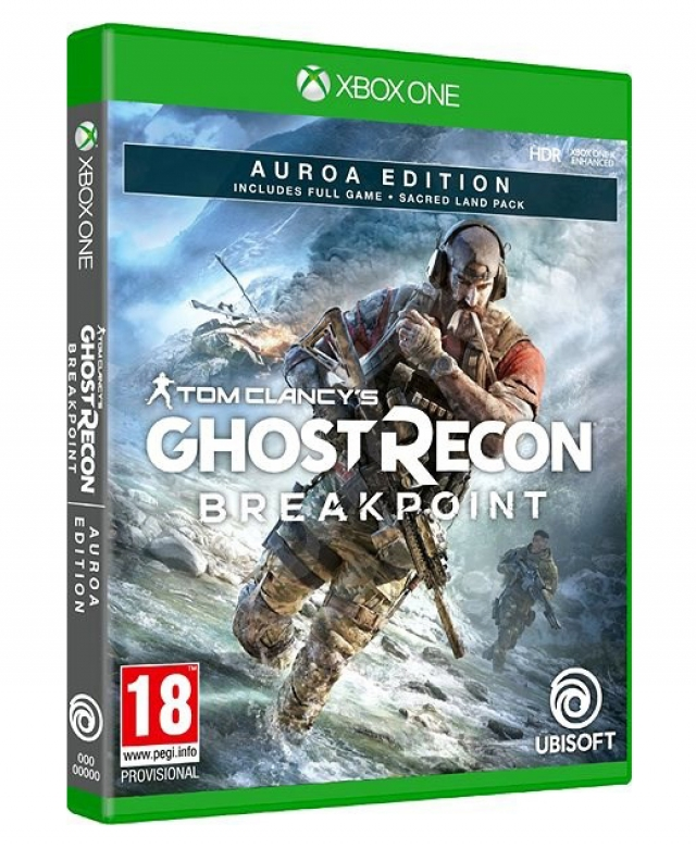 GHOST RECON BREAKPOINT Auroa Edition XBOX ONE