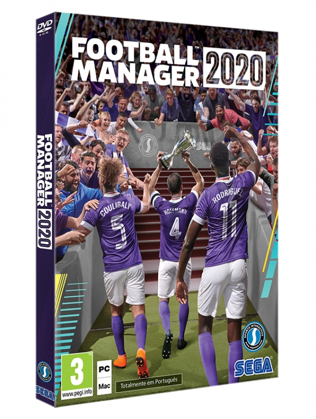 FOOTBALL MANAGER 2020 (EM PORTUGUÊS) PC/Mac