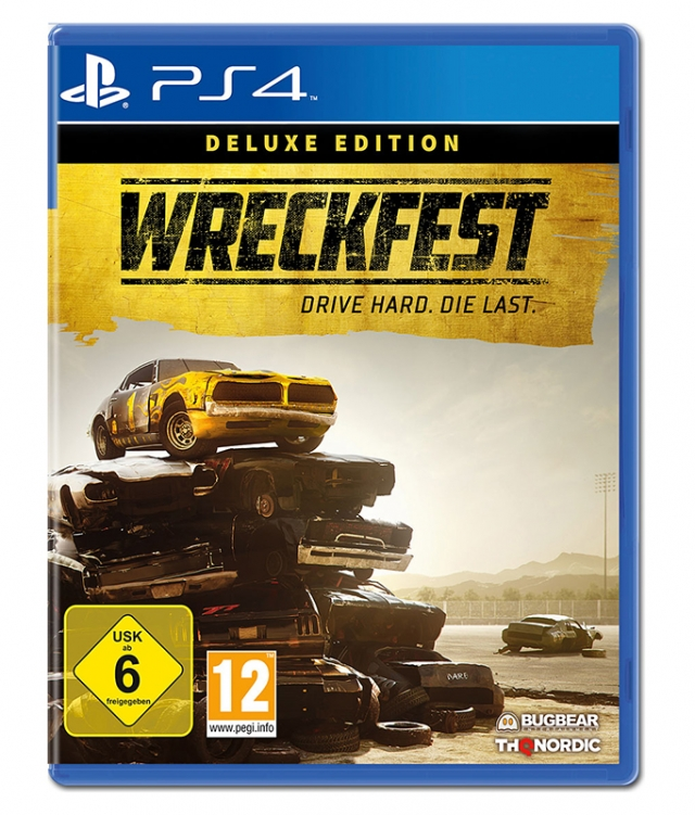 WRECKFEST Deluxe Edition PS4