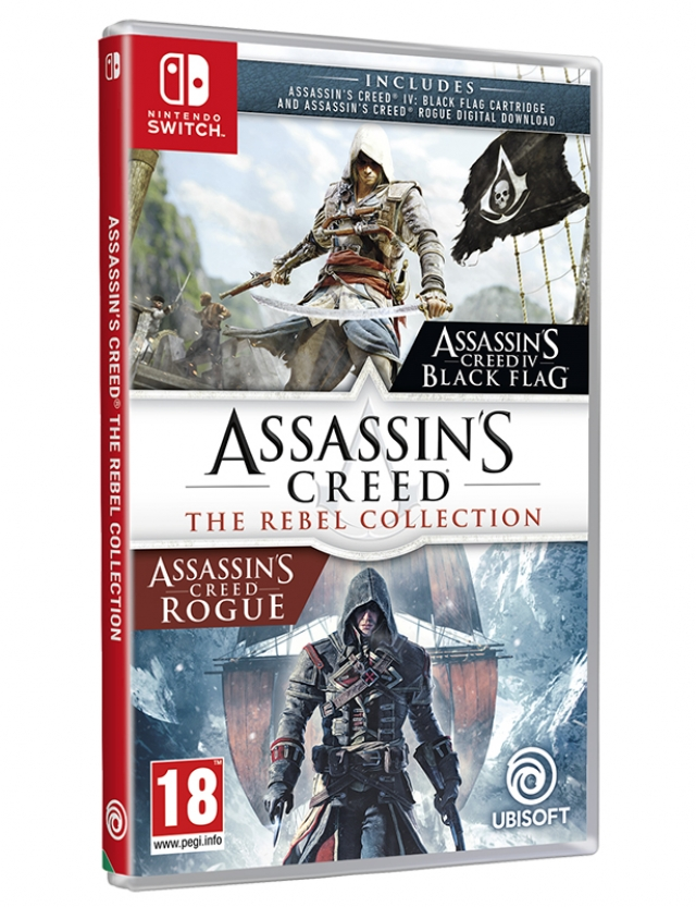 ASSASSINS CREED The Rebel Collection Switch