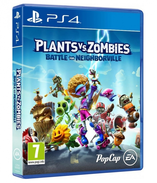PLANTS VS ZOMBIES BATTLE FOR NEIGHBORVILLE (EM PORTUGUÊS) PS4