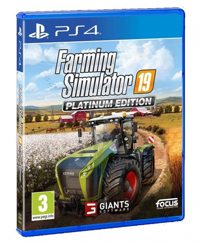 FARMING SIMULATOR 19 (EM PORTUGUÊS) Platinum Edition PS4