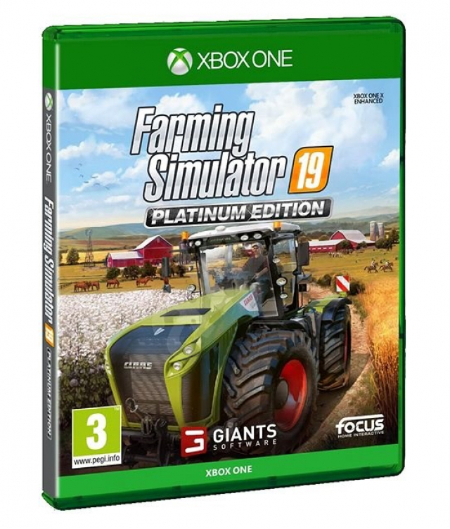 FARMING SIMULATOR 19 (EM PORTUGUÊS) Platinum Edition XBOX ONE