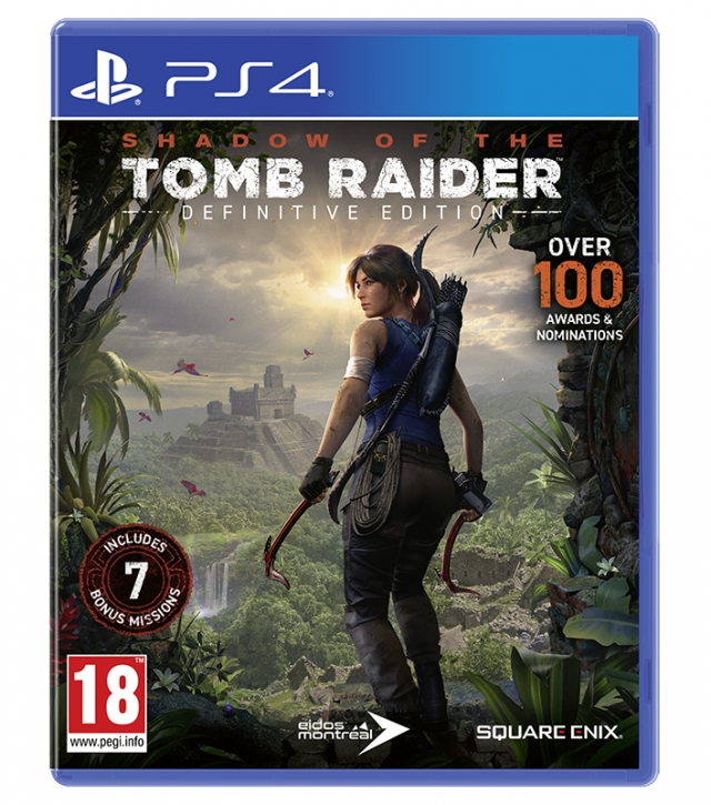 SHADOW OF THE TOMB RAIDER Definitive Edition (EM PORTUGUÊS) PS4