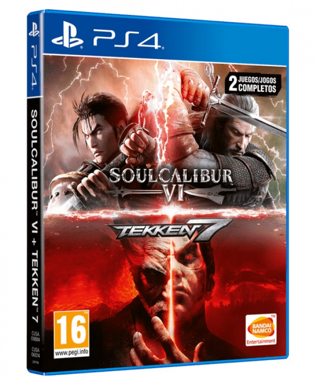 SOULCALIBUR VI + TEKKEN 7 PS4