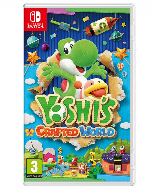YOSHI'S CRAFTED WORLD Switch