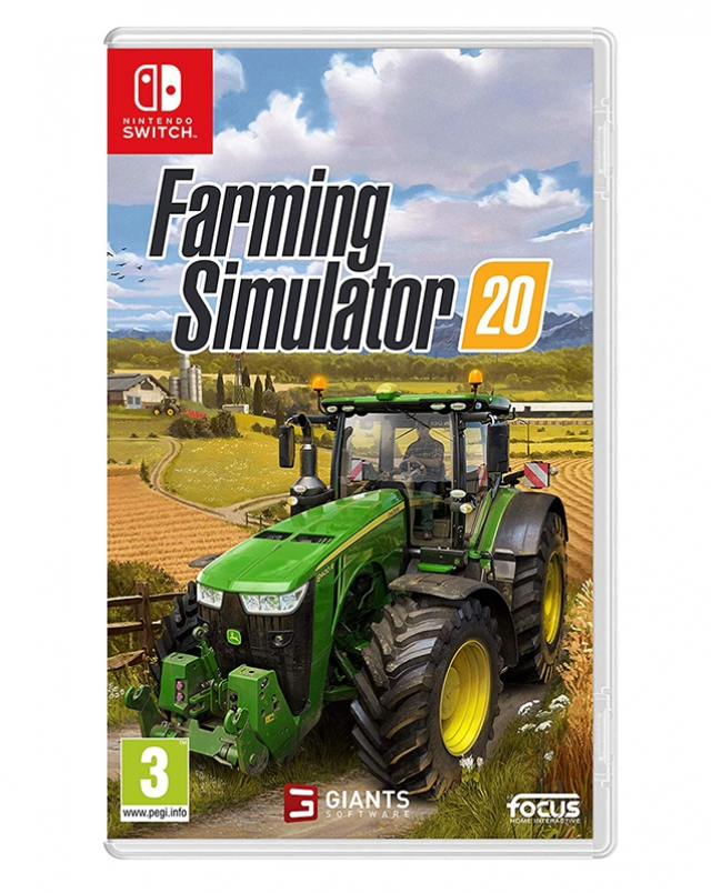 FARMING SIMULATOR 20 (EM PORTUGUÊS) Switch