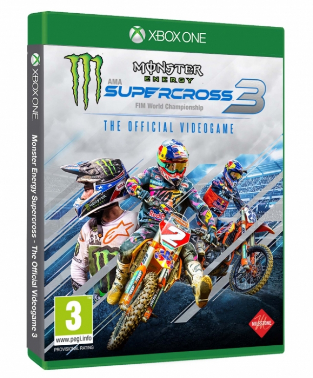 MONSTER ENERGY SUPERCROSS 3 XBOX ONE