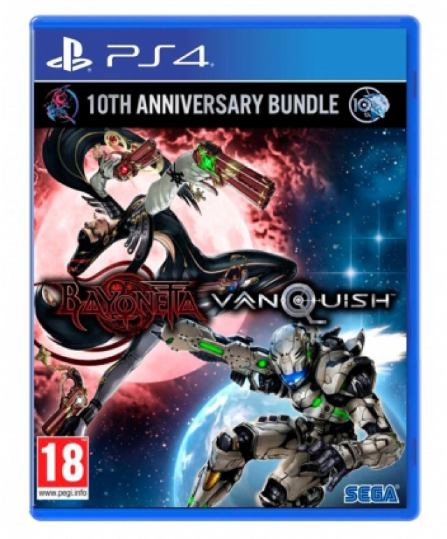 BAYONETTA / VANQUISH 10th Anniversary Bundle Launch Edition PS4