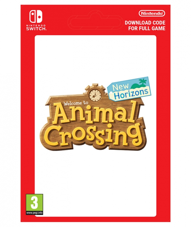 ANIMAL CROSSING NEW HORIZONS (Nintendo Digital) Switch