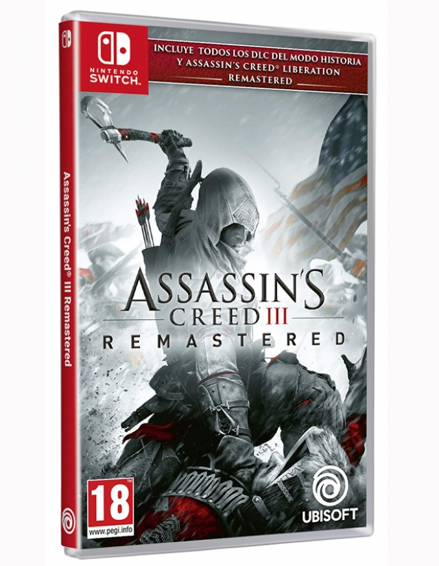 ASSASSINS CREED 3 Remastered (EM PORTUGUÊS) Switch