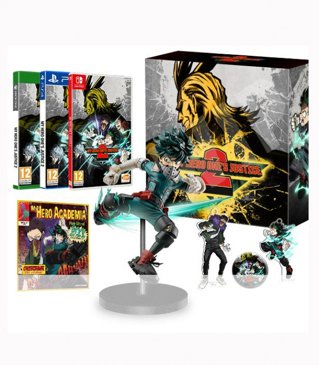 MY HERO ONE'S JUSTICE 2 Plus Ultra Edition (Oferta LDC) Switch