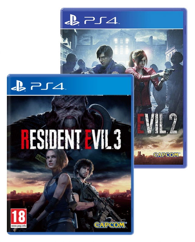 RESIDENT EVIL 3 & 2 Double Pack PS4