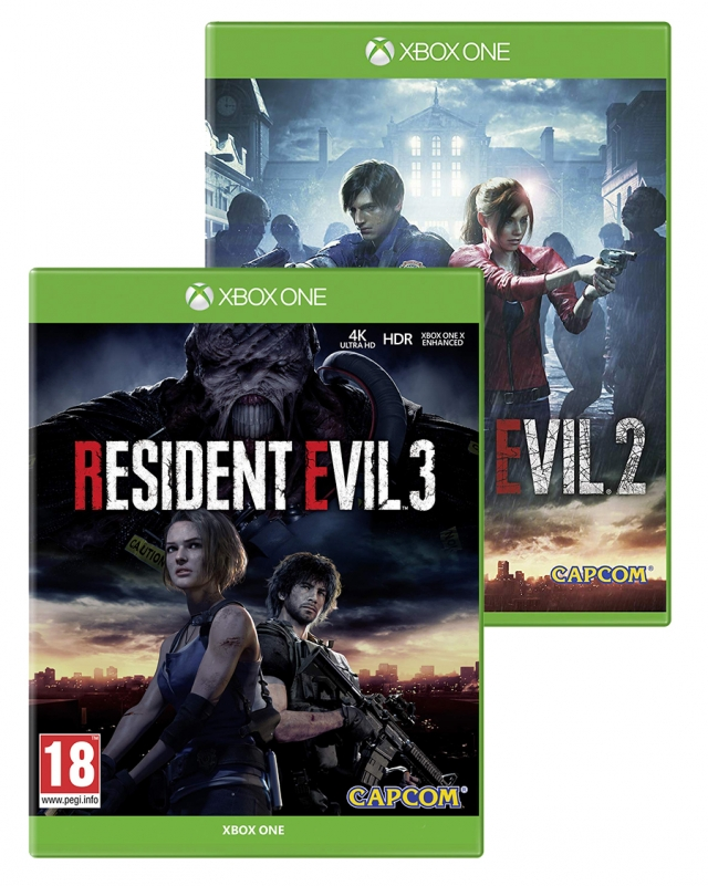 RESIDENT EVIL 3 & 2 Double Pack (Oferta DLC Reserva) XBOX ONE
