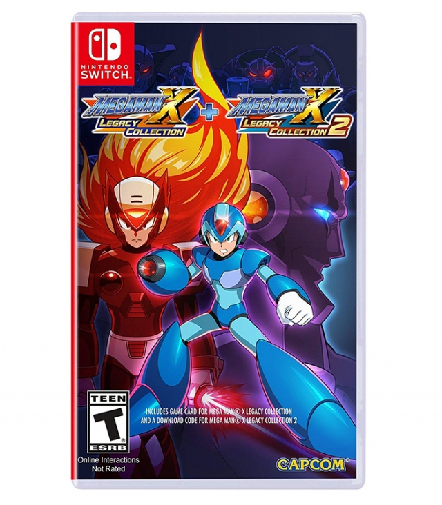 MEGA MAN X Legacy Collection 1 + 2 Switch