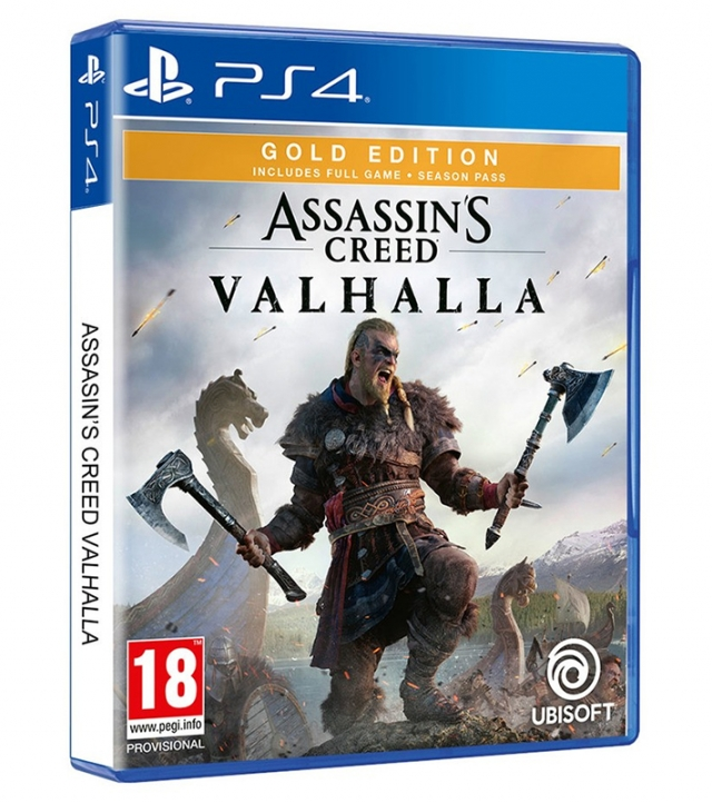 ASSASSINS CREED VALHALLA Gold Edition PS4/PS5