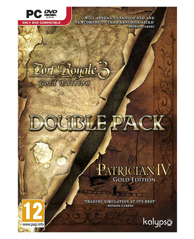 PORT ROYALE 3 Double Pack PC