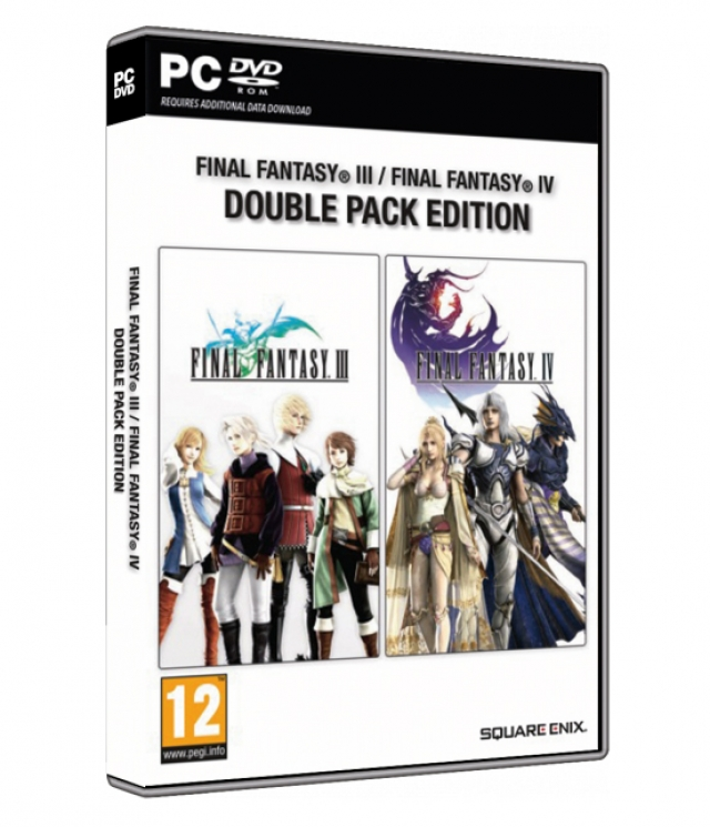 FINAL FANTASY III & IV Double Pack Edition PC