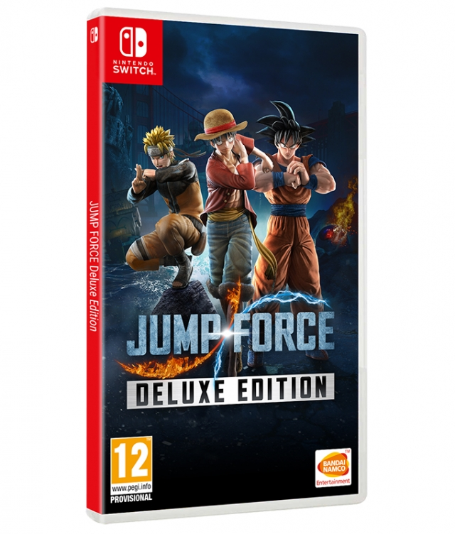 JUMP FORCE Deluxe Edition Switch