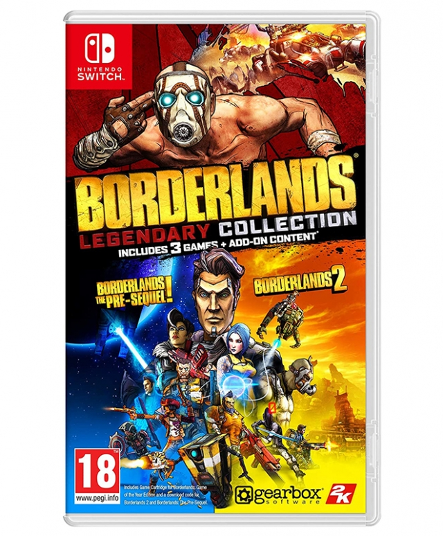 BORDERLANDS Lengendary Collection Switch