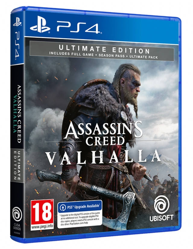 ASSASSINS CREED VALHALLA Ultimate Edition (EM PORTUGUÊS) PS4 | PS5