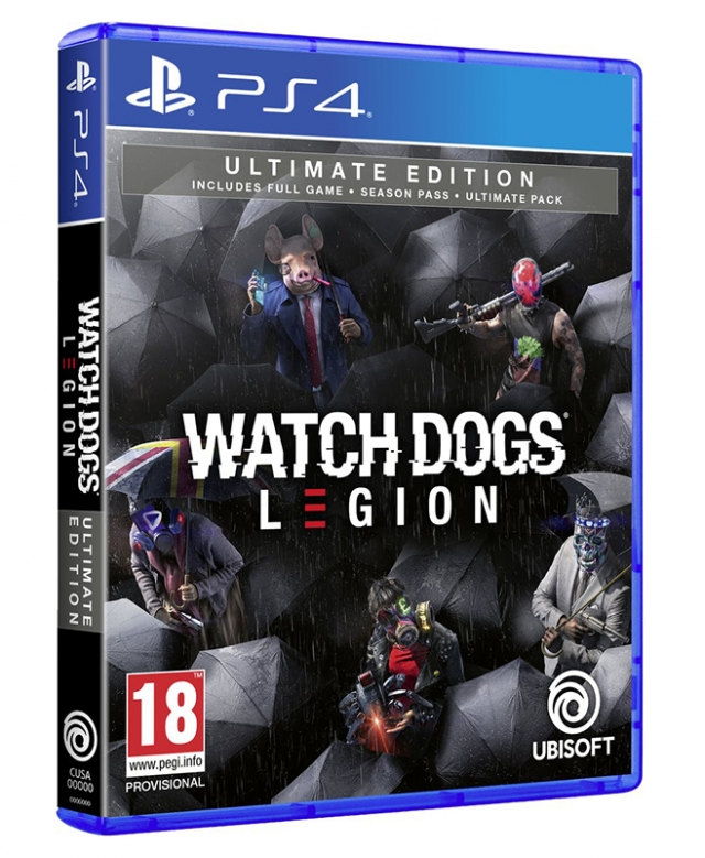 WATCH DOGS LEGION Ultimate Edition (Oferta DLC) PS4/PS5