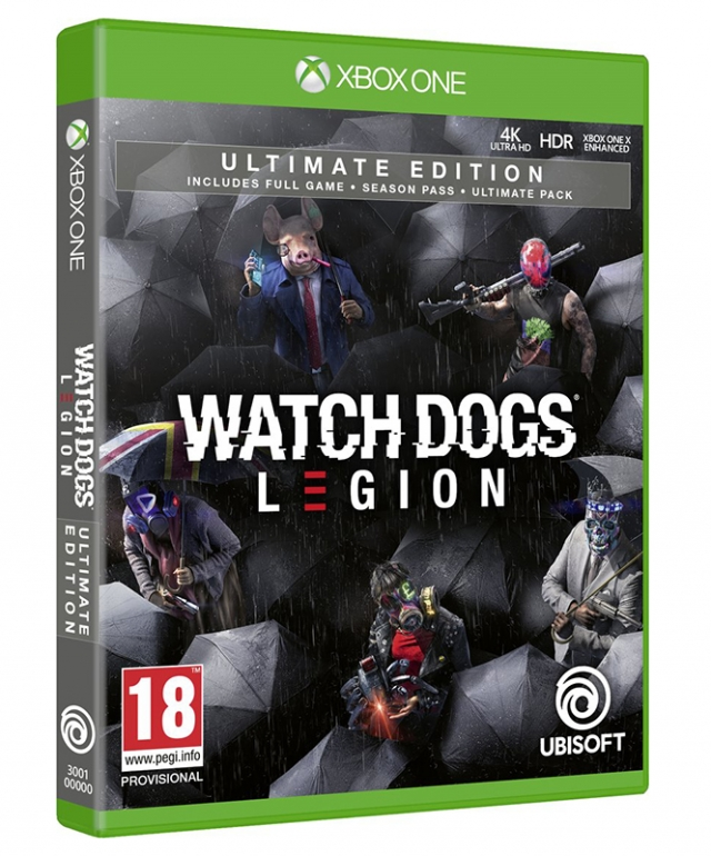 WATCH DOGS LEGION Ultimate Edition (Oferta DLC) XBOX ONE