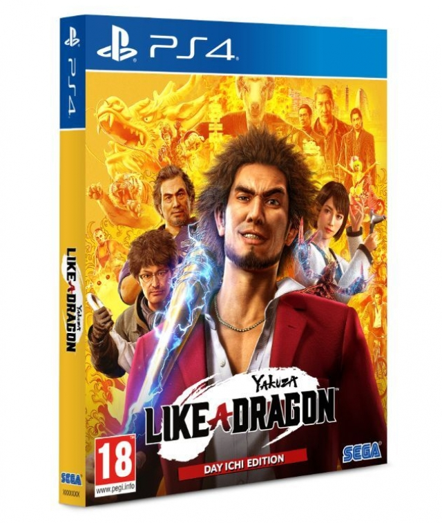YAKUZA LIKE A DRAGON Day Ichi Steelbook Edition PS4/PS5