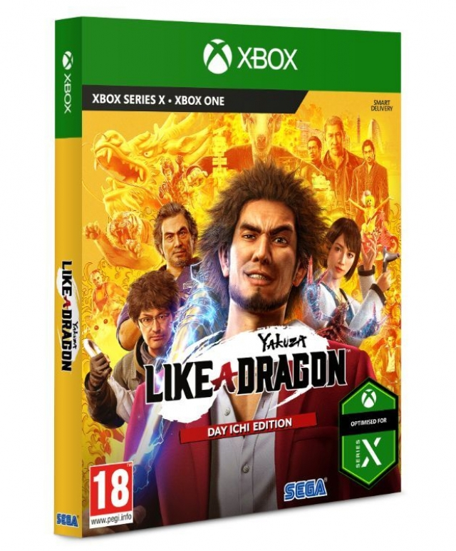 YAKUZA LIKE A DRAGON Day Ichi Steelbook Edition XBOX ONE/Xbox Series X