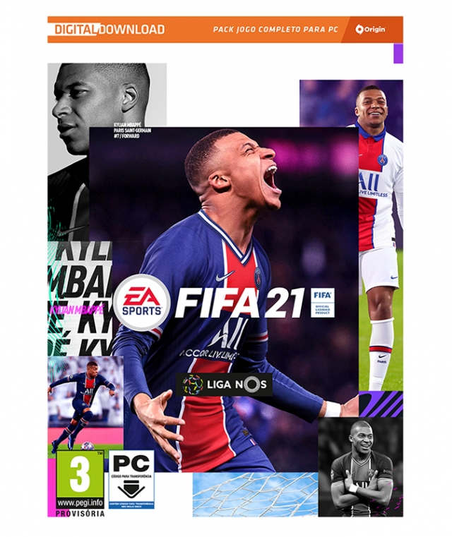 FIFA 21 (EM PORTUGUÊS) Download Digital PC