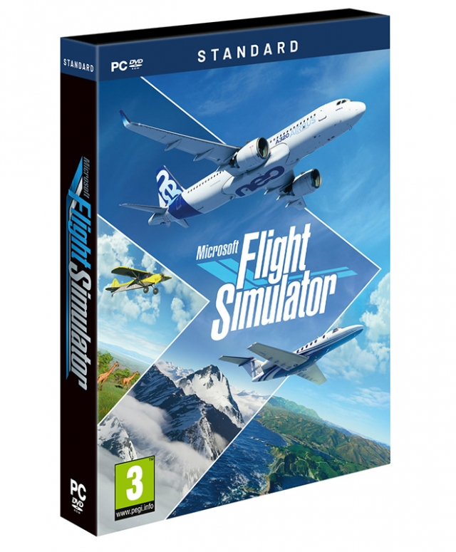 Microsoft FLIGHT SIMUATOR PC