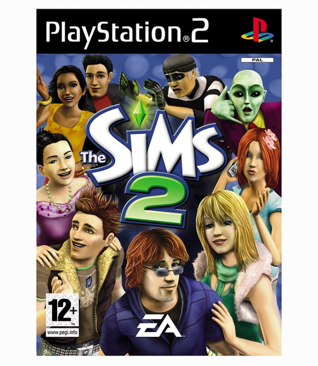 THE SIMS 2 PS2