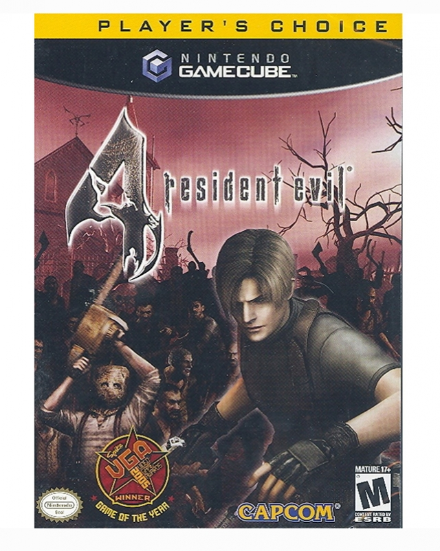 RESIDENT EVIL 4 Player's Choice (Região 1) Gamecube