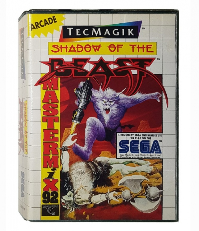SHADOW OF THE BEAST Master System