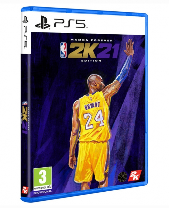 NBA 2K21 Mamba Forever Edition PS5