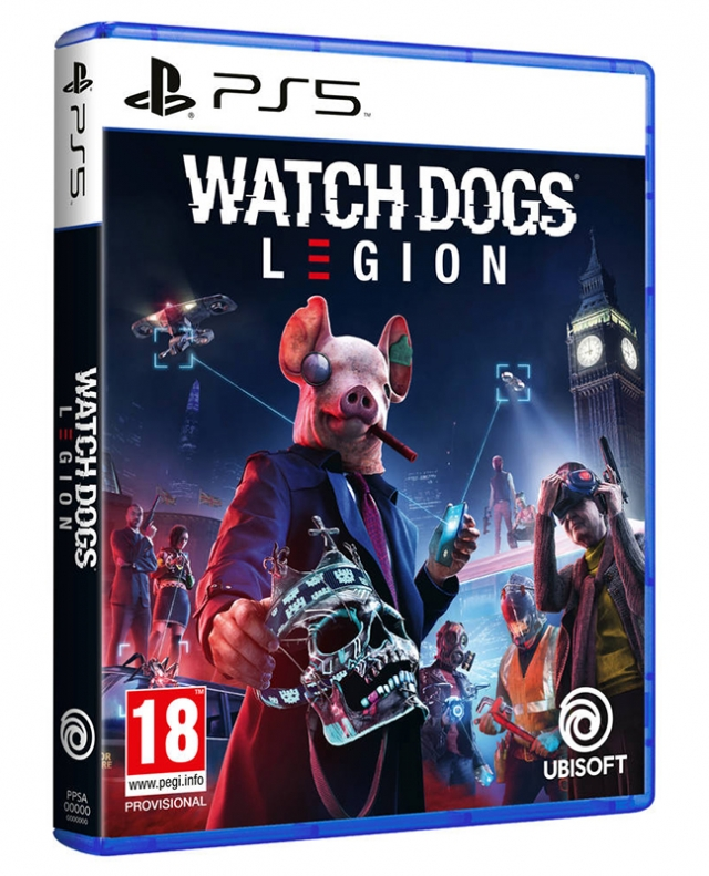 WATCH DOGS LEGION (EM PORTUGUÊS) PS5