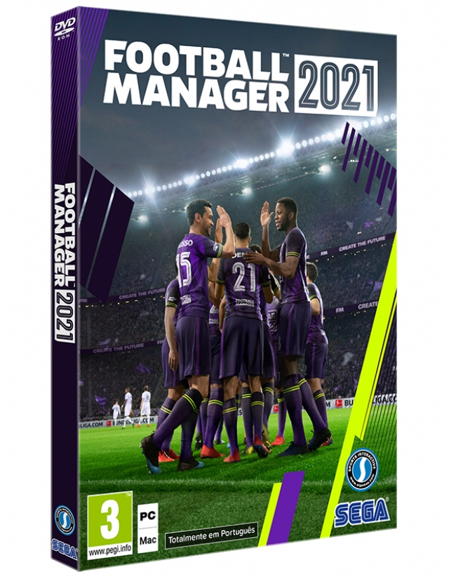 FOOTBALL MANAGER 2021 (EM PORTUGUÊS) PC/Mac