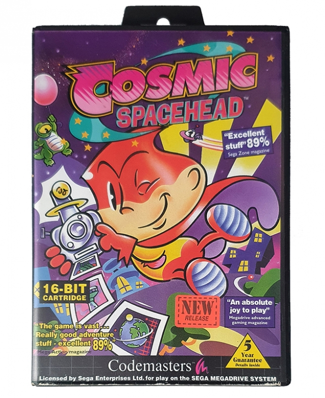 COSMIC SPACEHEAD MegaDrive
