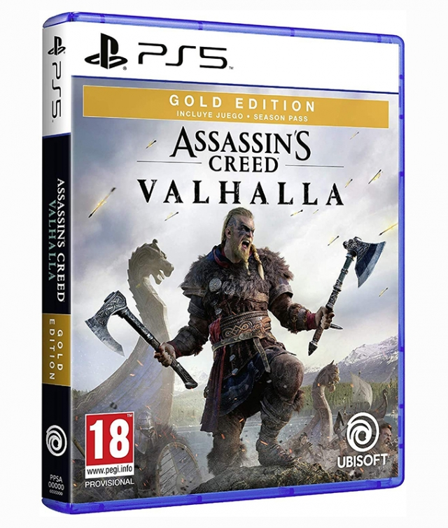 ASSASSINS CREED VALHALLA Gold Edition PS5