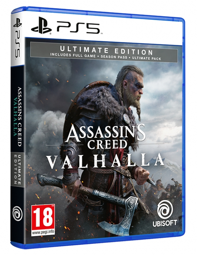 ASSASSINS CREED VALHALLA Ultimate Edition PS5