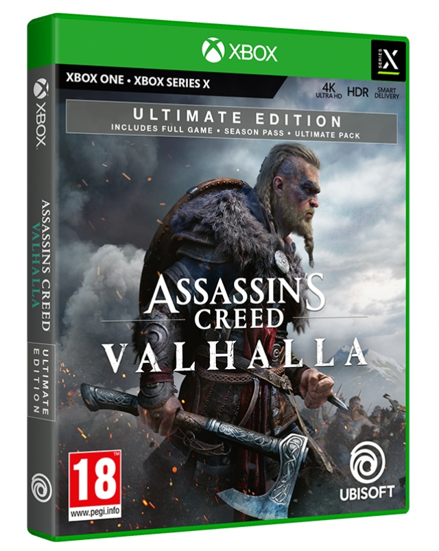 ASSASSINS CREED VALHALLA Ultimate Edition Xbox One X