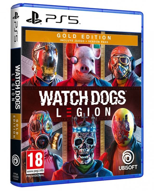 WATCH DOGS LEGION Gold Edition (EM PORTUGUÊS)  PS5