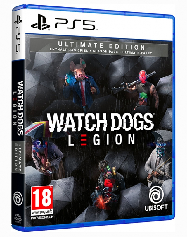 WATCH DOGS LEGION Ultimate Edition (EM PORTUGUÊS) PS5