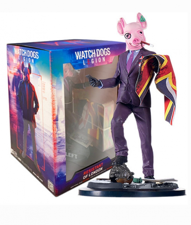 WATCH DOGS LEGION Figura Resistance of London