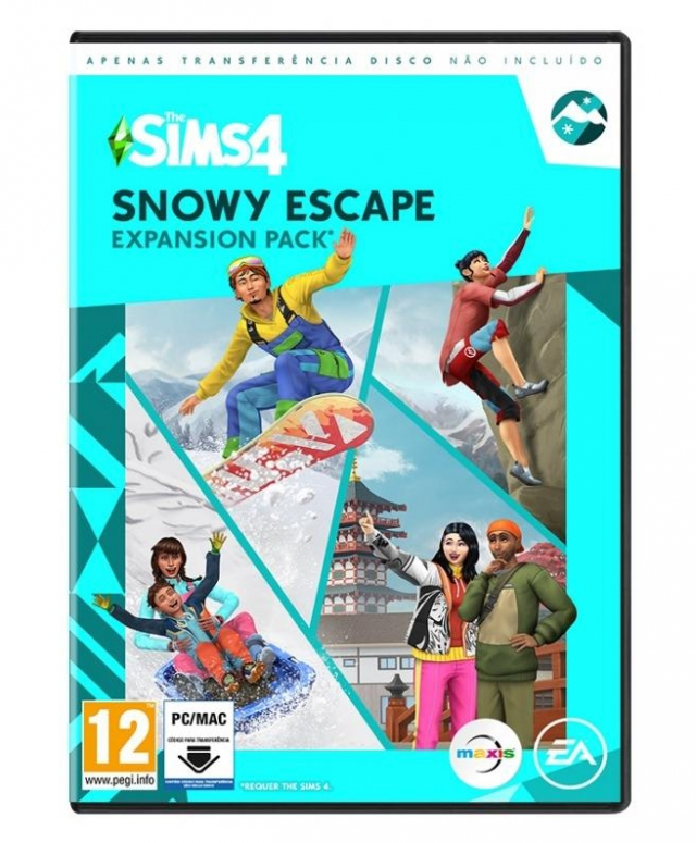 THE SIMS 4 SNOWY ESCAPE (Pack de Expansão) PC