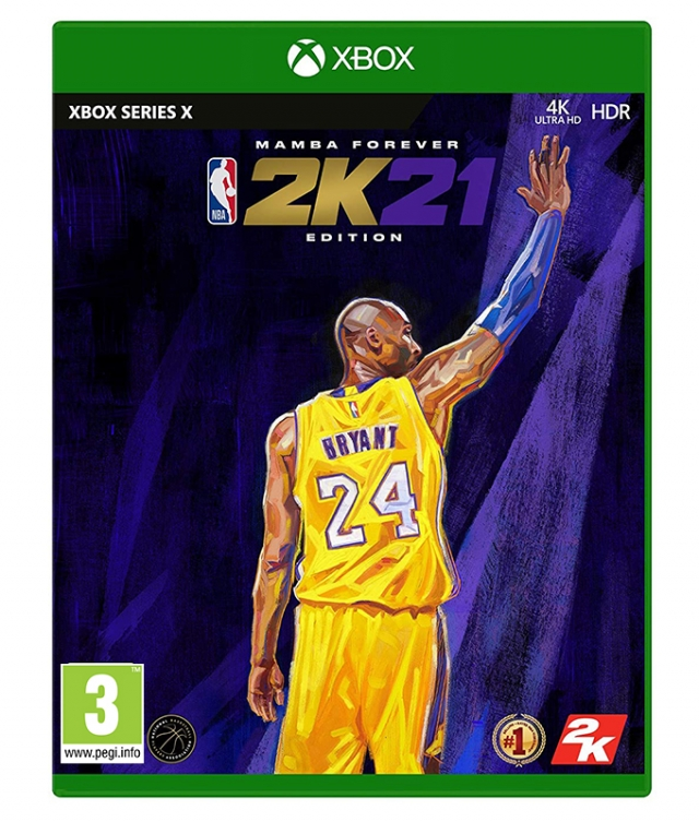 NBA 2K21 Mamba Forever Edition XBOX series X