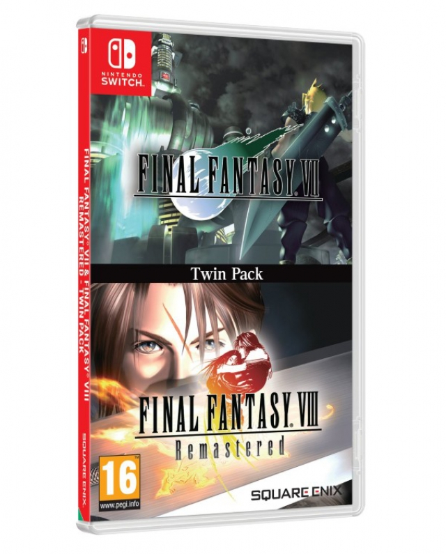 FINAL FANTASY VII & VIII Remastered Twin Pack Switch