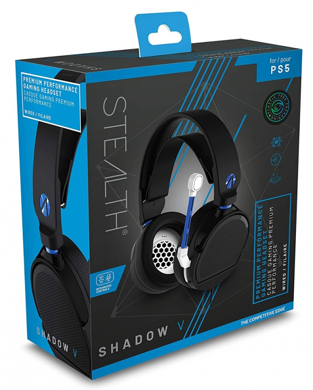 Auscultadores Gaming STEALTH Shadow V PS5