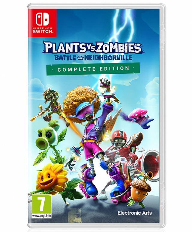 PLANTS VS ZOMBIES BATTLE FOR NEIGHBORVILLE Complete Edition (EM PORTUGUÊS) Switch