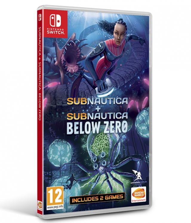 SUBNAUTICA + SUBNAUTICA BELOW ZERO Switch